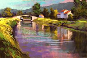 Canal de Bourgogne by PatrickHENRY