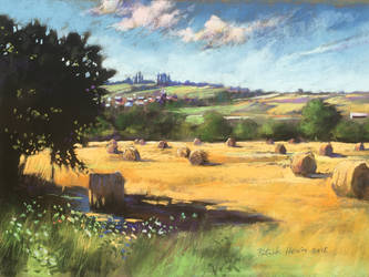 Round ballers in Normandy soft pastel by PatrickHENRY