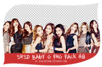 SNSD Baby G PNG Pack