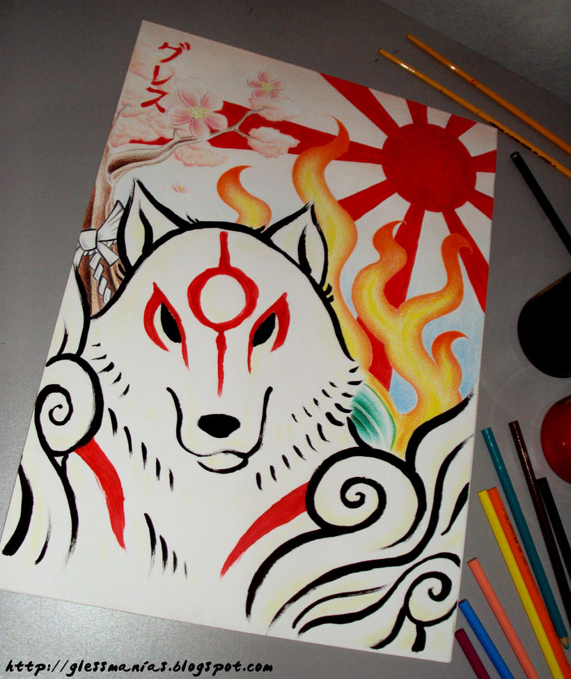Amaterasu Okami by Gless by GlessManias