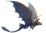 Httyd 2 Hiccup and Toothless