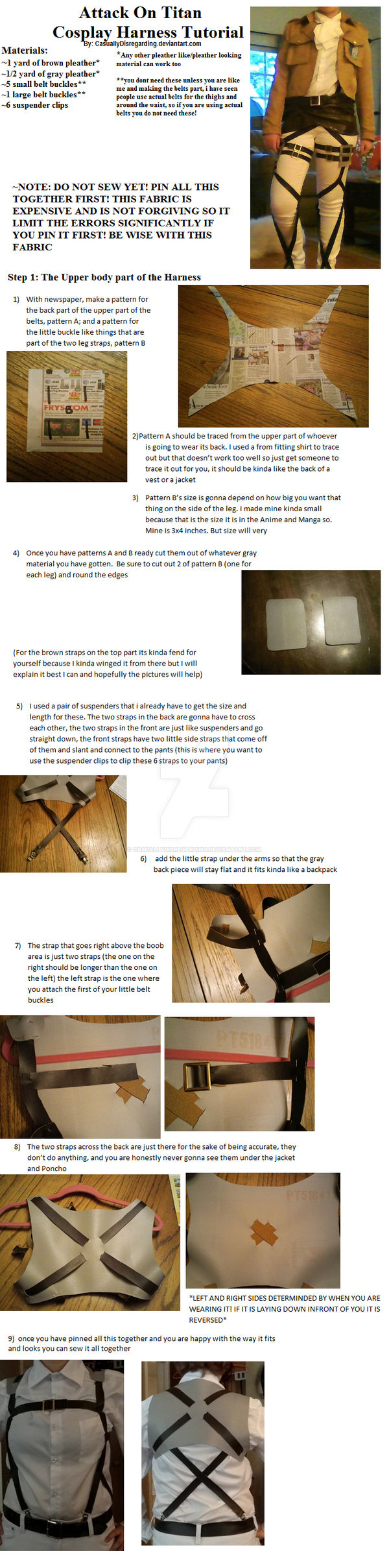 Attack on Titan Harness Tutorial Part 1
