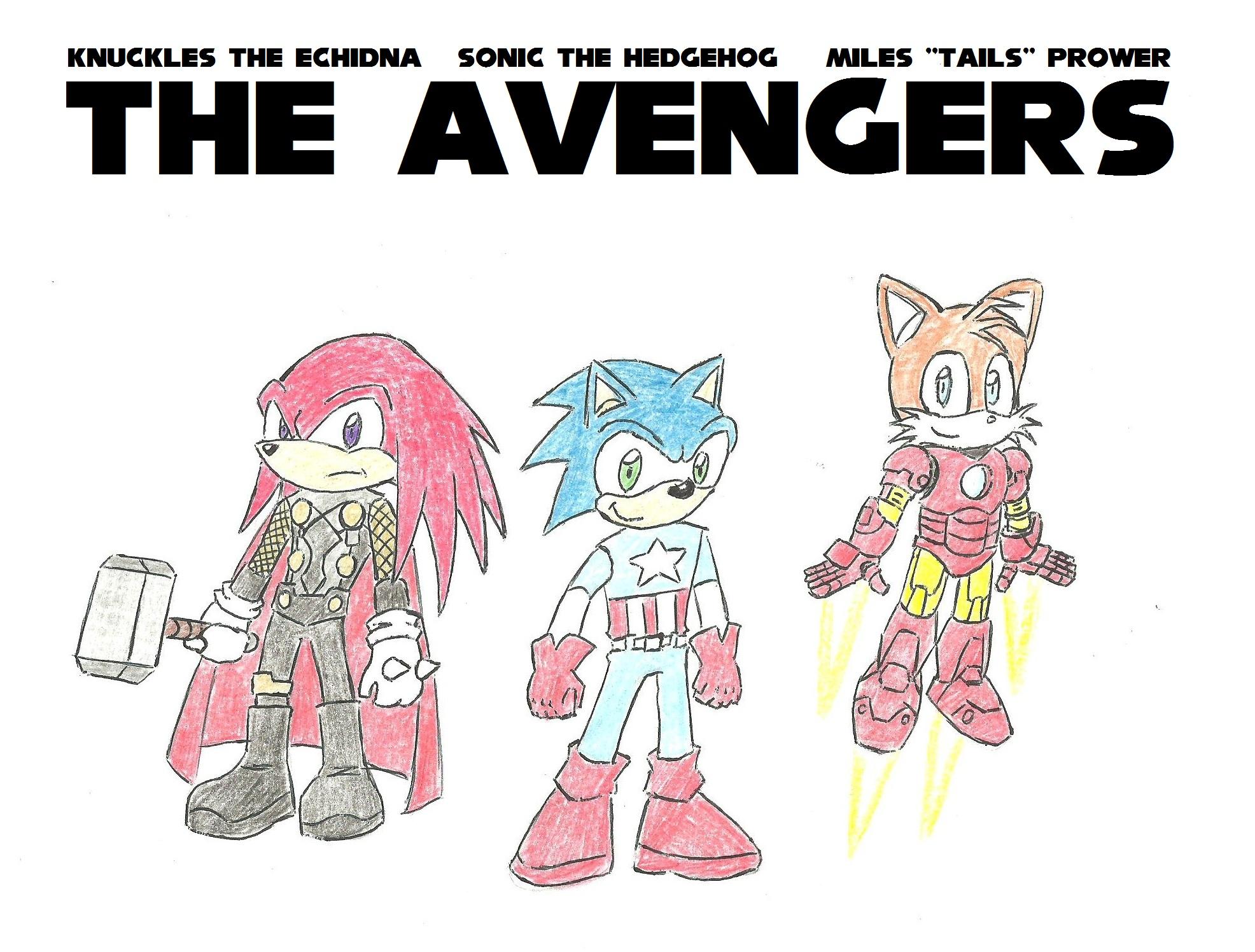 Sonic ja kumppanit Kostajina by Darkkis91
