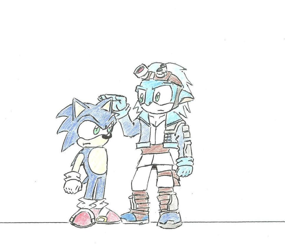 Sonic ja Sag by Darkkis91