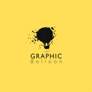 Graphic Balloon Logo