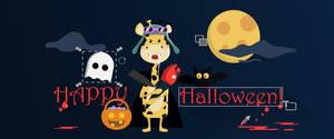 Halloween Gibi (Graphic Balloon Banner)