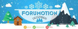 Forumotion Facebook Cover - Winter