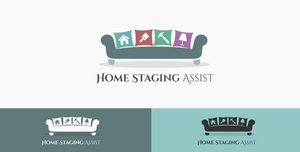 Home Staging Logo Concept