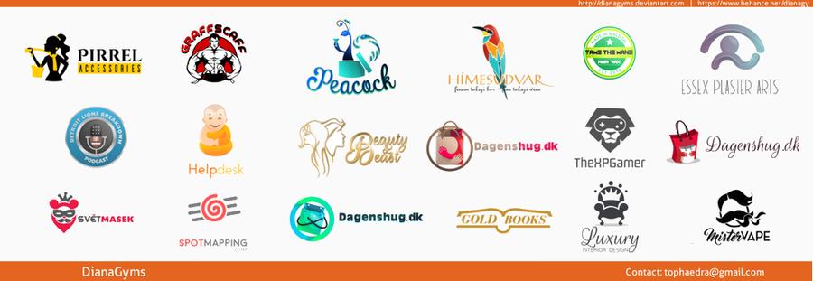 Logofolio - February Summary by DianaGyms