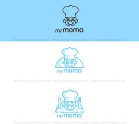 Momo Restaurant Logo by DianaGyms