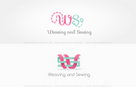 WS - Weaving and sewing logo concept