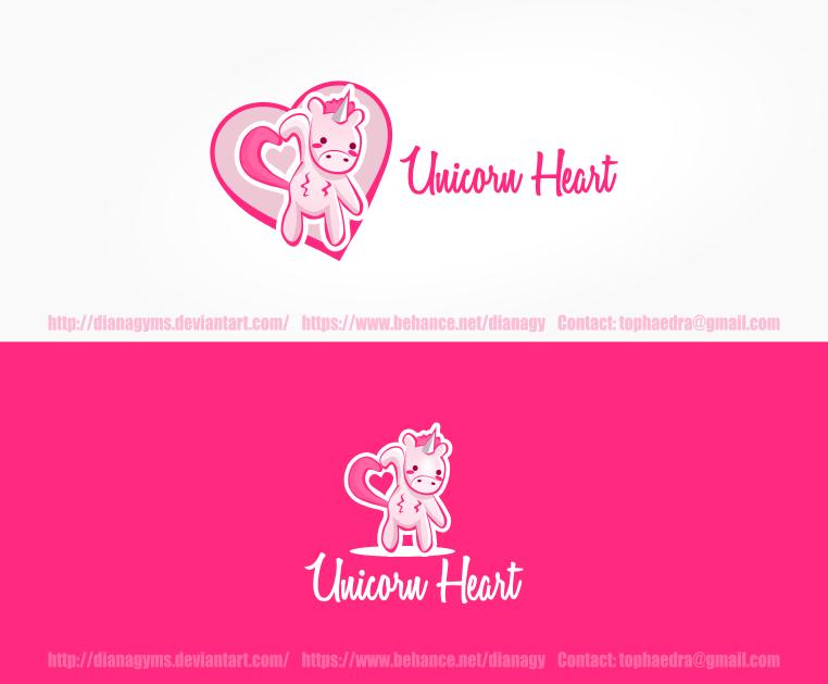 Unicorn Heart Logo