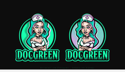 Girl Mascot Concept by DianaGyms