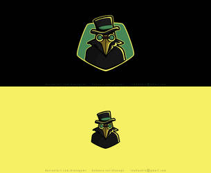 Plague Doc Logo Concept by DianaGyms