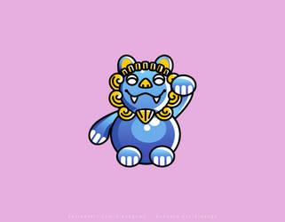 Lion Dragon Mascot