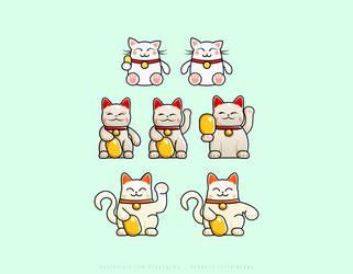 Fortune Cat Concepts