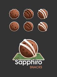 Chocolate Meteorite Logo
