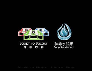 Mosaic Gradient Logos