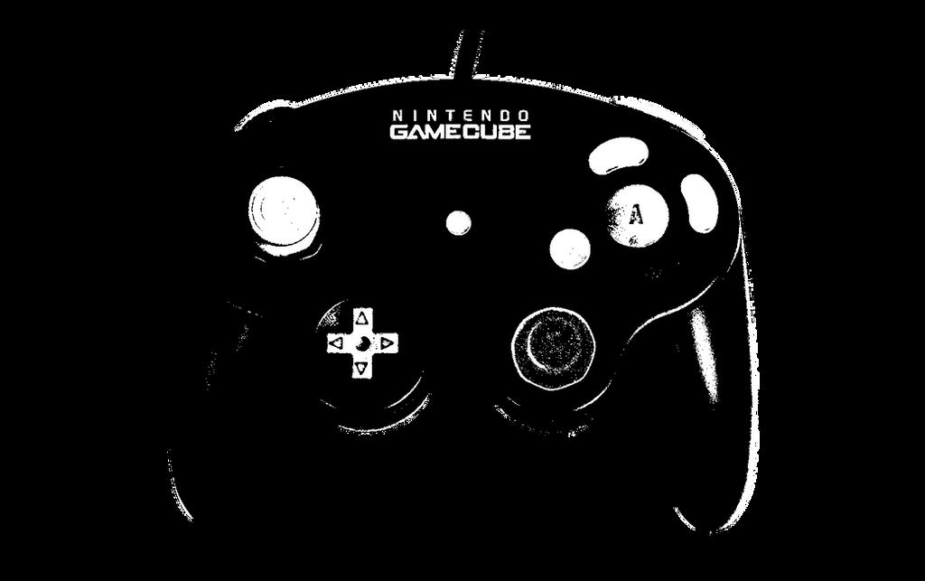 Gamecube Controller Stencil by rimij405 on DeviantArt