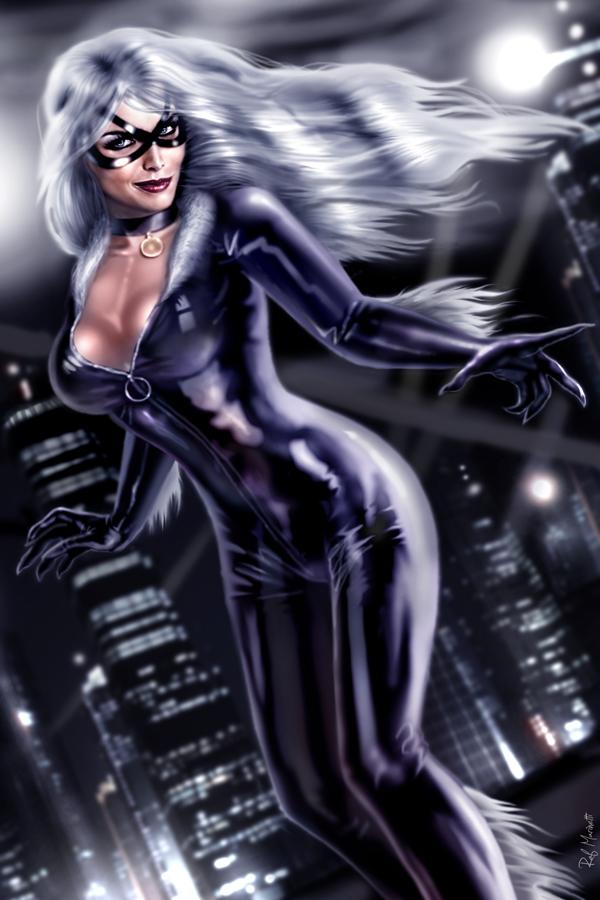Black Cat 009 by RaffaeleMarinetti