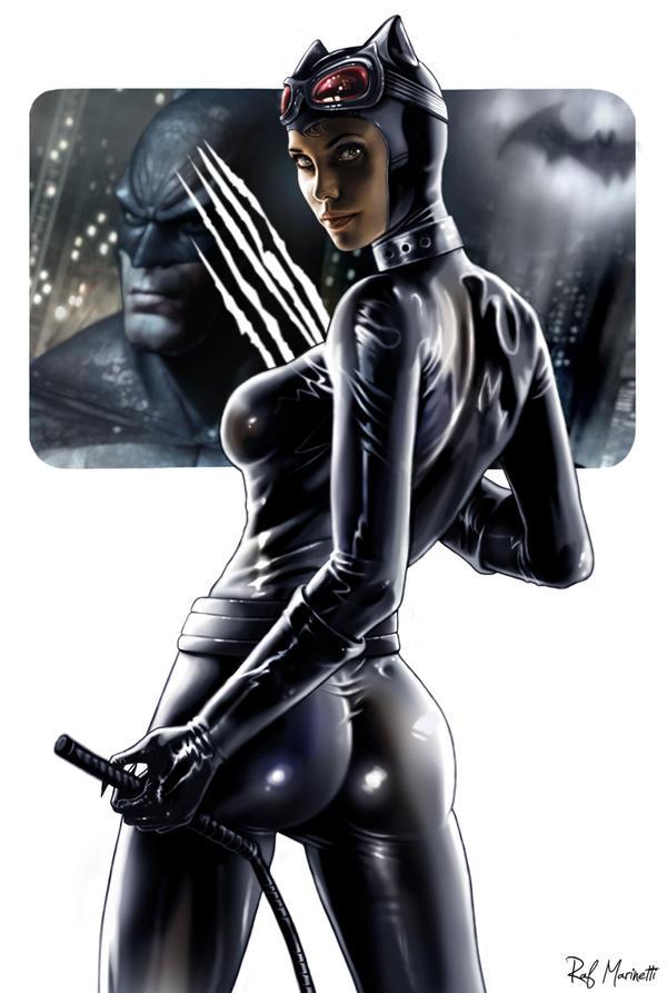 Catwoman 022-b by RaffaeleMarinetti