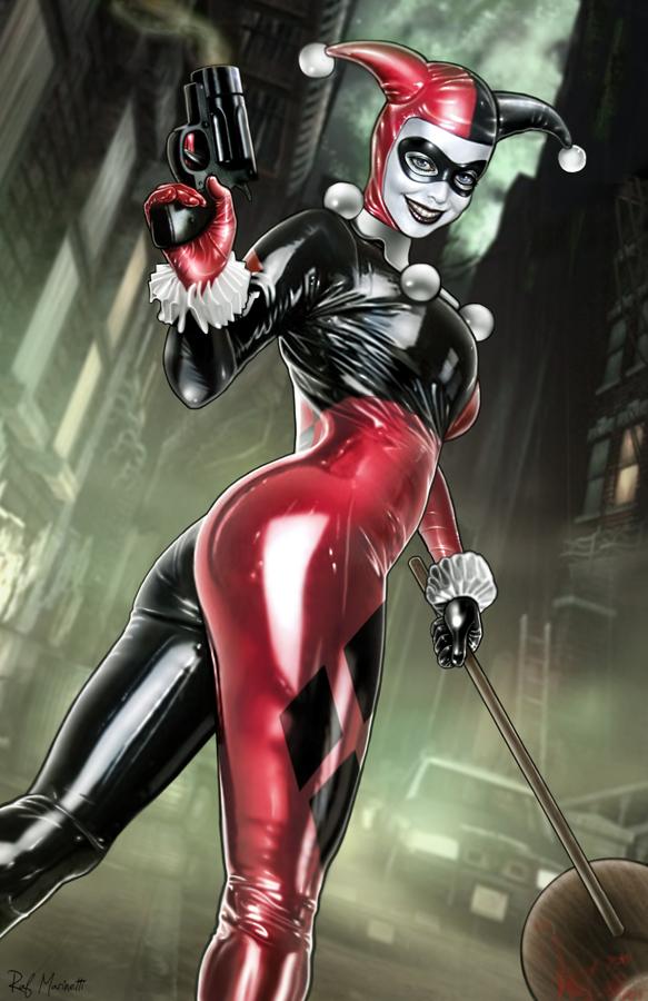 Harley Quinn 010 by RaffaeleMarinetti