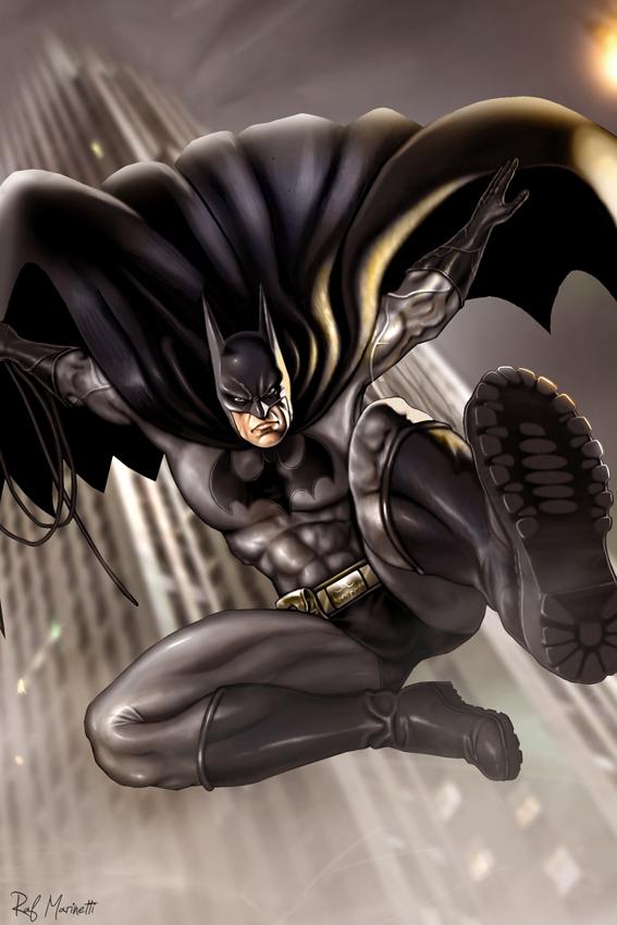 Batman 05 by RaffaeleMarinetti