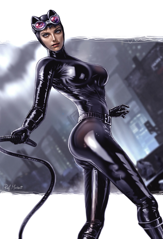 Catwoman nude cartoon pic 39