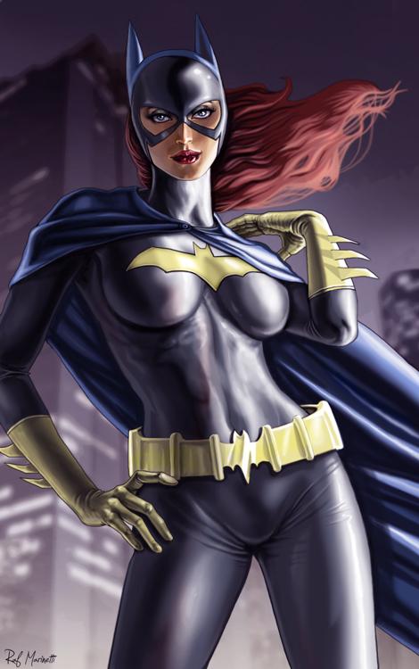 Batgirl 0011b by RaffaeleMarinetti
