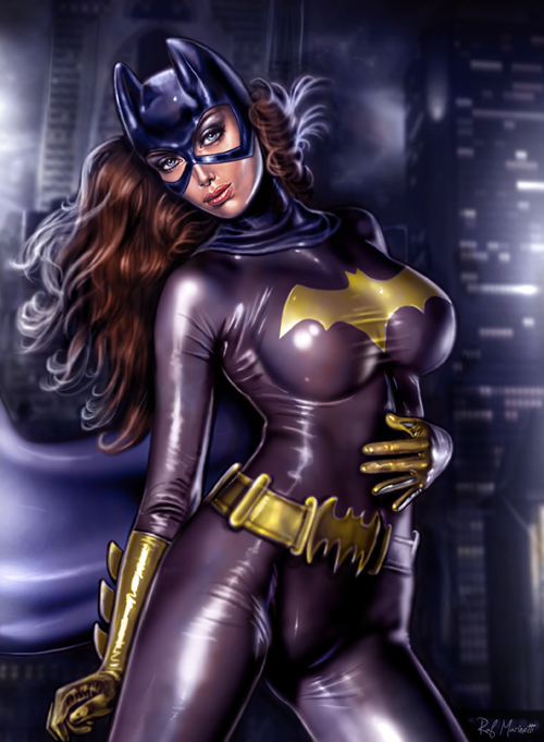 Batgirl p028 by RaffaeleMarinetti