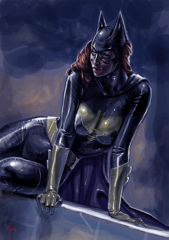 Batgirl sk079 by RaffaeleMarinetti