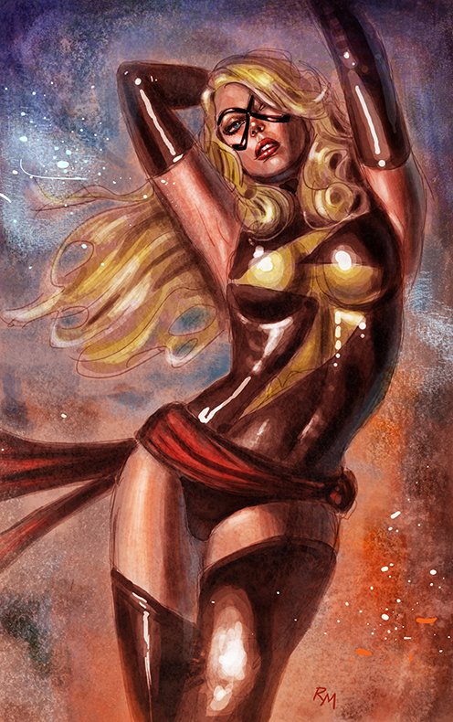 Ms Marvel Gh89 by RaffaeleMarinetti