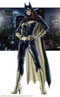 Batgirl rt011 by RaffaeleMarinetti