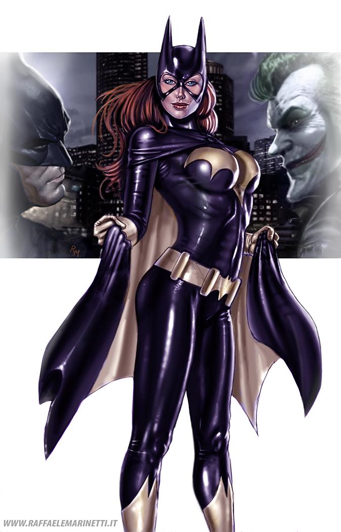 Batgirl Kl04 by RaffaeleMarinetti