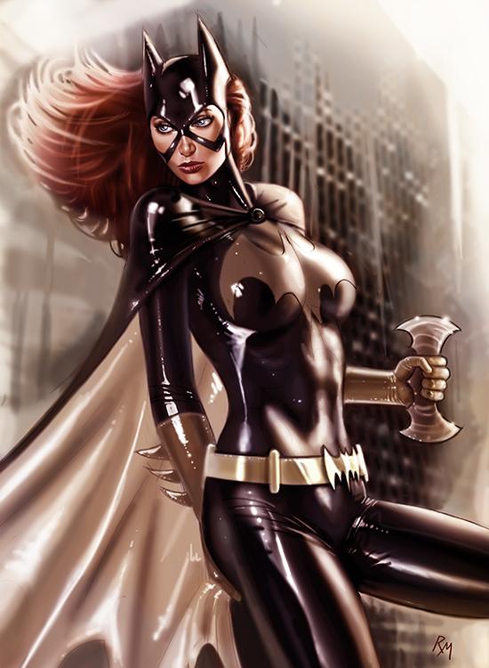 Batgirl H27 by RaffaeleMarinetti