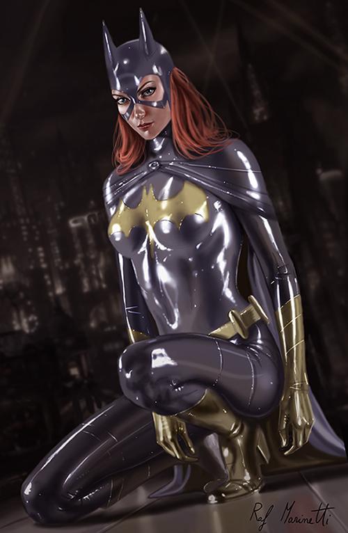 Batgirl h124 by RaffaeleMarinetti
