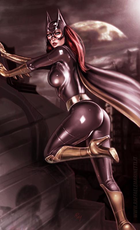 Batgirl H136 by RaffaeleMarinetti