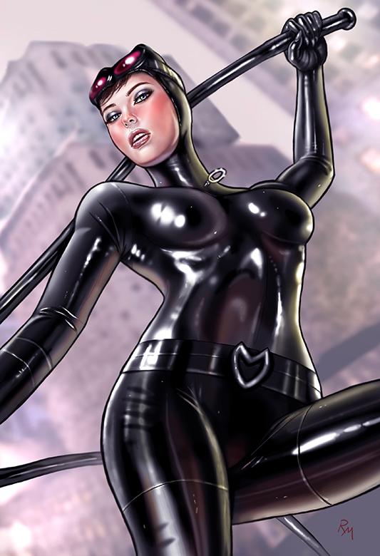 Catwoman Gh201 by RaffaeleMarinetti