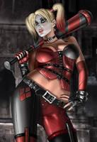 Harley Quinn Th34 by RaffaeleMarinetti