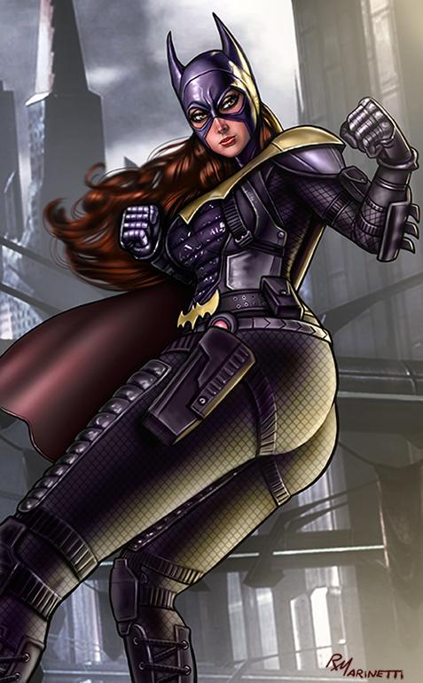 Batgirl Igau031 by RaffaeleMarinetti