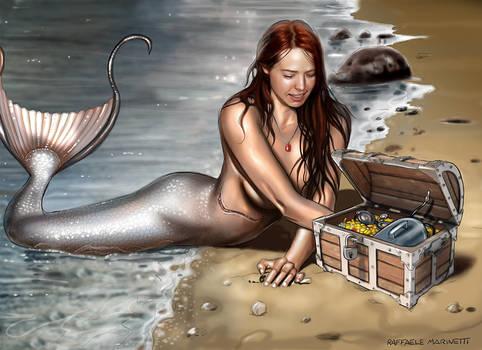 Jenn Mermaid - commission