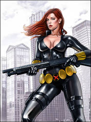 Black Widow t39 by RaffaeleMarinetti