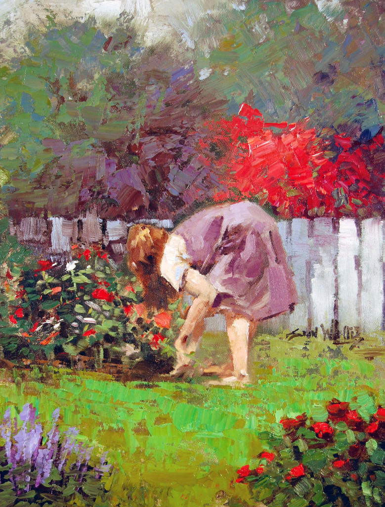Tending the garden by rooze23 on deviantart for Tending to the garden