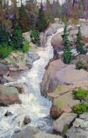 Alberta Falls by rooze23