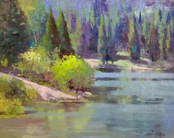 Tony Grove Plein Air by rooze23