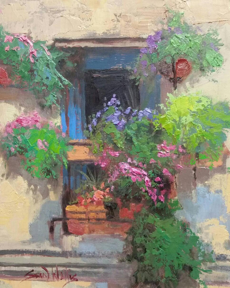 Floral Window by rooze23