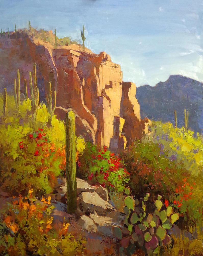 Fruitful Desert by rooze23