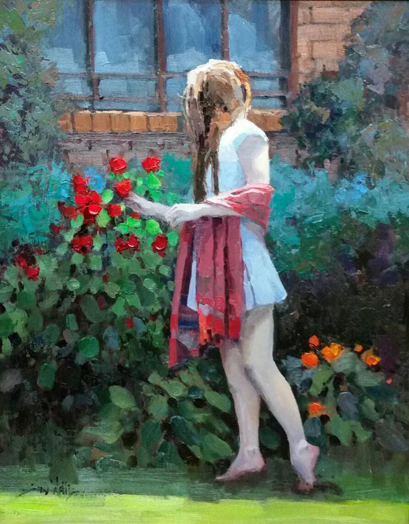 A walk through the garden by rooze23 on deviantart - When you walk through the garden ...