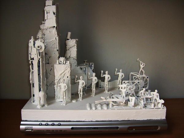 Technological Detritus III by ARTmonkey90