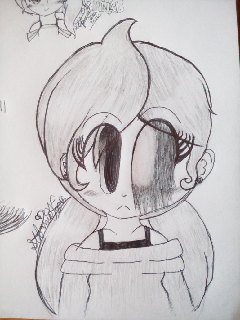 Steffi Persona Sketch/Doodle by florencio123